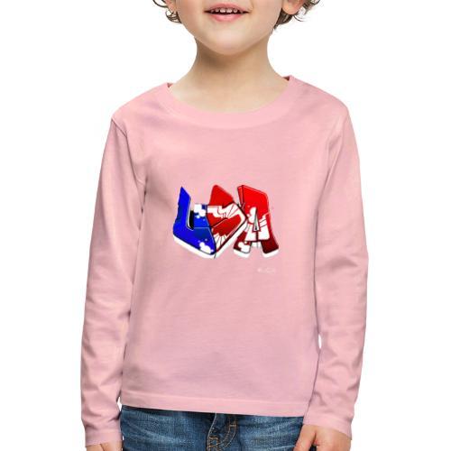 USA - T-shirt manches longues Premium Enfant