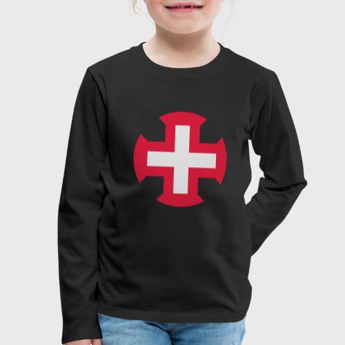 Croix du Portugal - T-shirt manches longues Premium Enfant