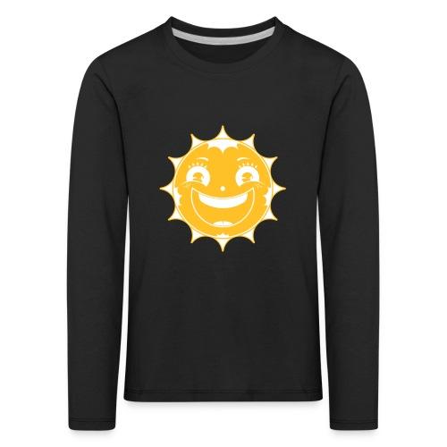 Happy Sun - Kinder Premium Langarmshirt