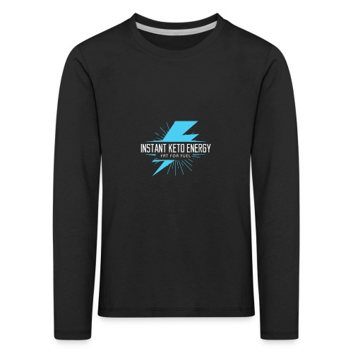 KETONES - Instant Energy Tasse - Kinder Premium Langarmshirt