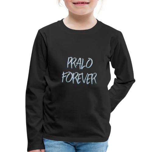 pralo forever bleu - T-shirt manches longues Premium Enfant