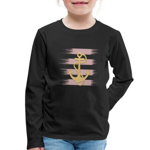 Anker - Kinder Premium Langarmshirt