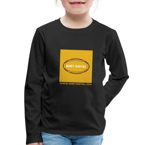SINET DIGITAL - T-shirt manches longues Premium Enfant