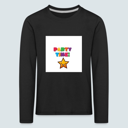 Party Time - Kinder Premium Langarmshirt