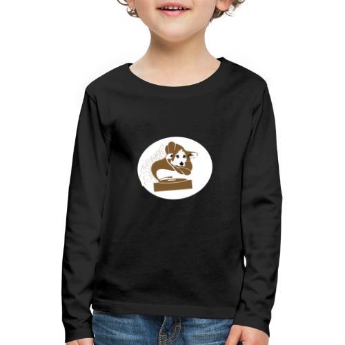 Droove logo - Kinderen Premium shirt met lange mouwen