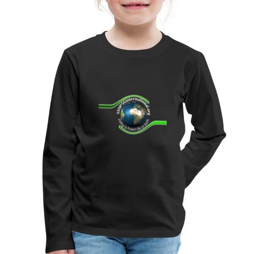 LOGO white font - Kids' Premium Longsleeve Shirt