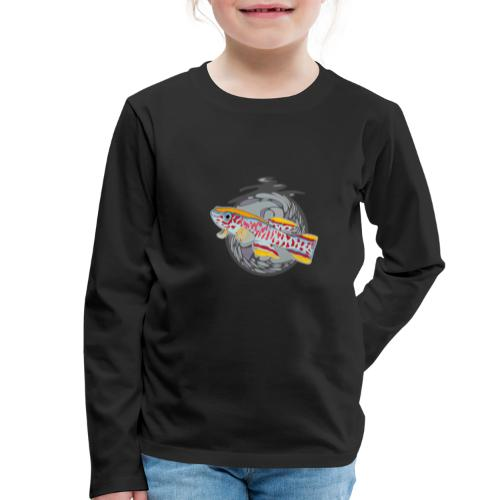 Space Fish Bluecontest - T-shirt manches longues Premium Enfant