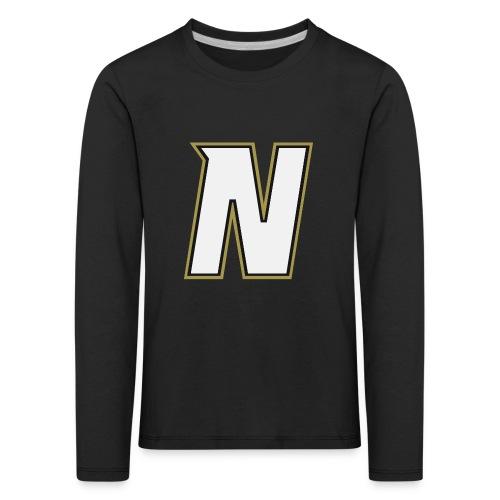 Nordic Steel WHITE N - Kids' Premium Longsleeve Shirt