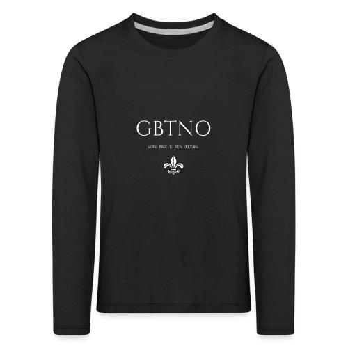 GBTNO - Børne premium T-shirt med lange ærmer