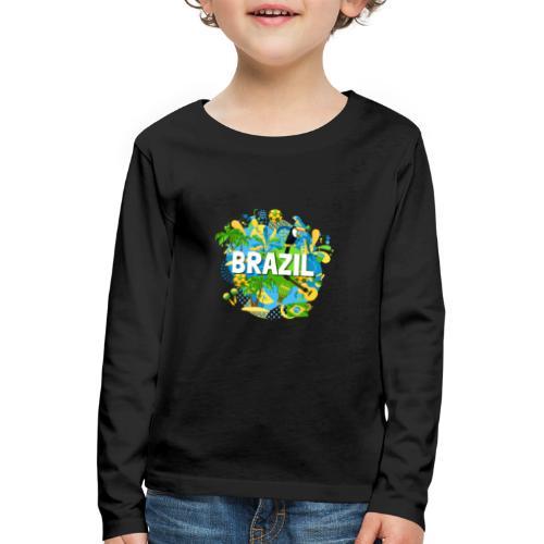 Encontro Brasil - Kids' Premium Longsleeve Shirt