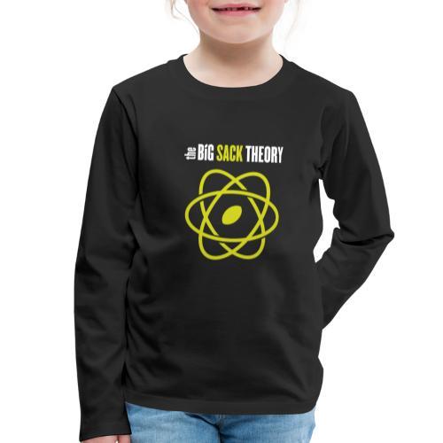 The Big Sack Theory - Kinder Premium Langarmshirt