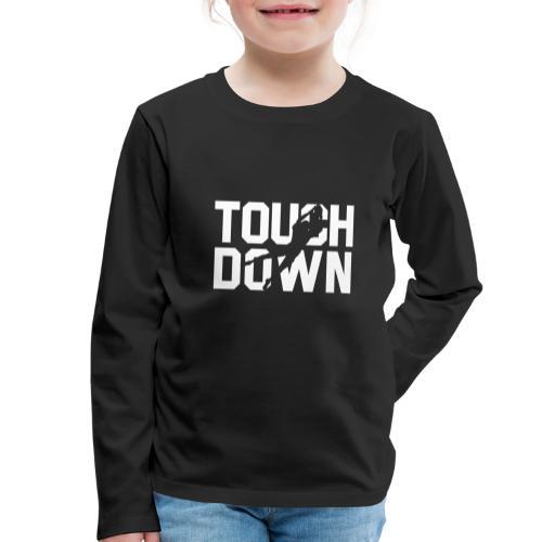 Touchdown - Kinder Premium Langarmshirt