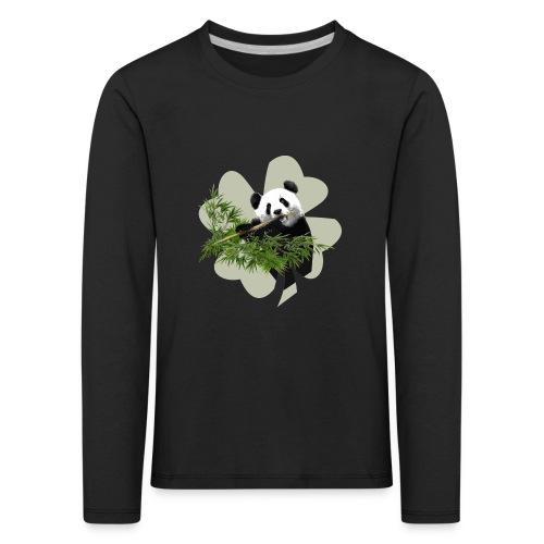 My lucky Panda - T-shirt manches longues Premium Enfant