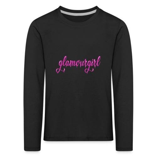 Glamourgirl dripping letters - Kinderen Premium shirt met lange mouwen