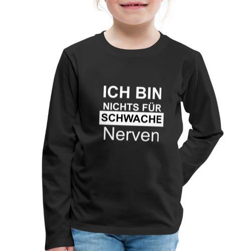1002 WE - Kinder Premium Langarmshirt