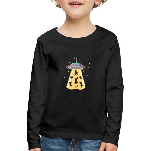 EXTRA CAT - T-shirt manches longues Premium Enfant