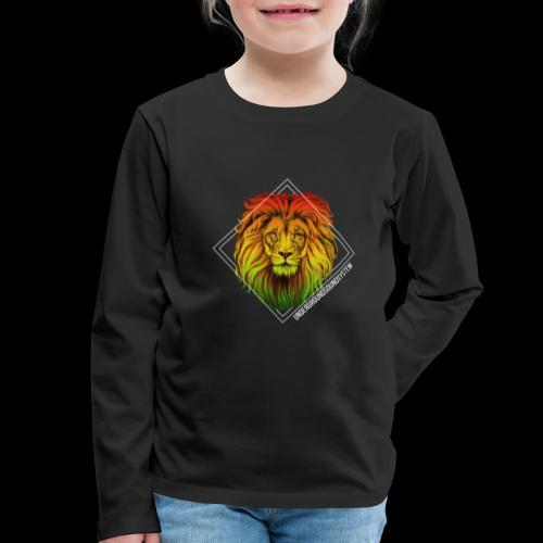 LION HEAD - UNDERGROUNDSOUNDSYSTEM - Kinder Premium Langarmshirt