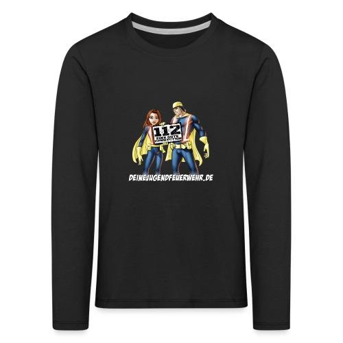 Superhelden & Logo - Kinder Premium Langarmshirt