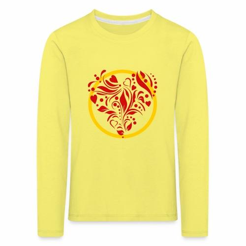 Herzemblem - Kinder Premium Langarmshirt