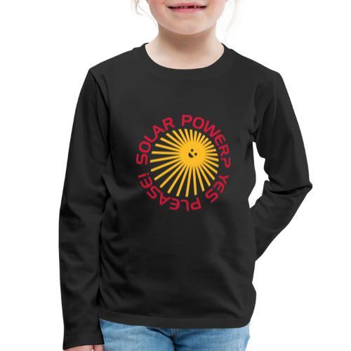 BD Solar Power - Kinder Premium Langarmshirt