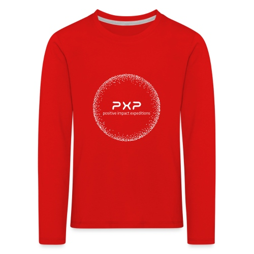 white logo transparent 2x - Kids' Premium Longsleeve Shirt