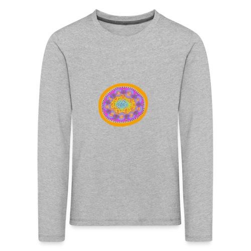 Mandala Pizza - Kids' Premium Longsleeve Shirt