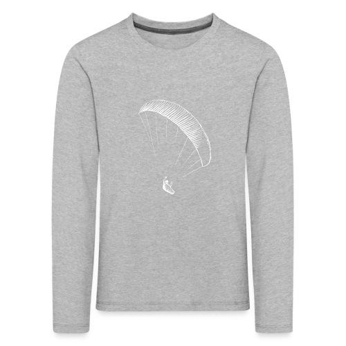 paraglider gerlitzen weiss - Kinder Premium Langarmshirt