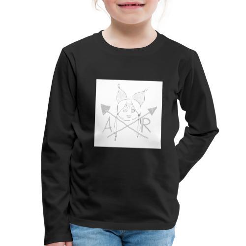 Marken Name Version 1 - Kinder Premium Langarmshirt