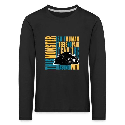 This monster - Koszulka dziecięca Premium z długim rękawem