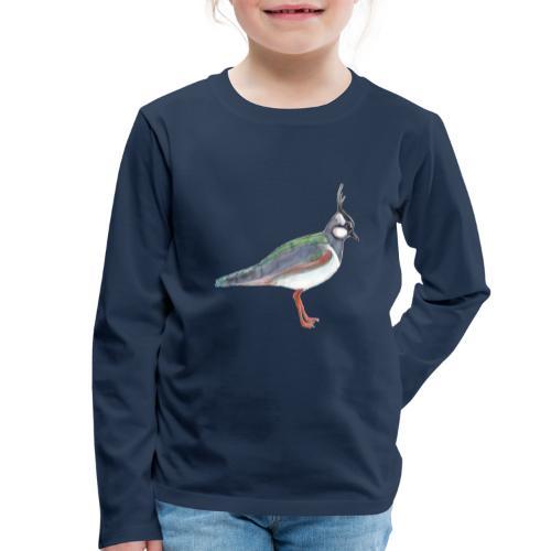 lapwing - Børne premium T-shirt med lange ærmer