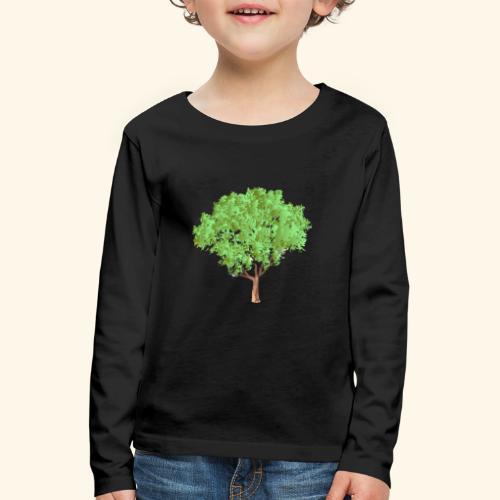 baum 3 - Kinder Premium Langarmshirt