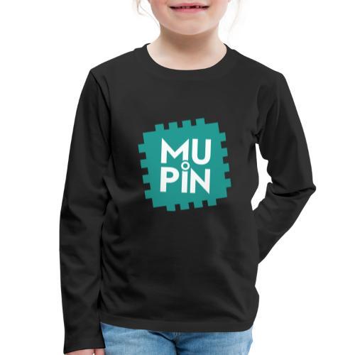Logo Mupin quadrato - Maglietta Premium a manica lunga per bambini