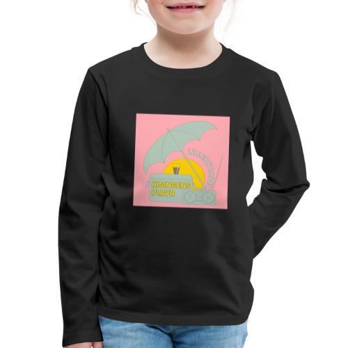 Hisingens playa pink - Långärmad premium-T-shirt barn