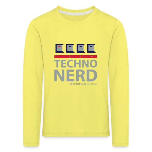 Techno Nerd - Kids' Premium Longsleeve Shirt