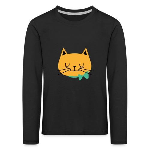 cat - T-shirt manches longues Premium Enfant