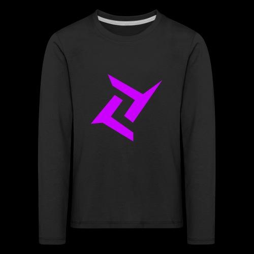 New logo png - Kinderen Premium shirt met lange mouwen