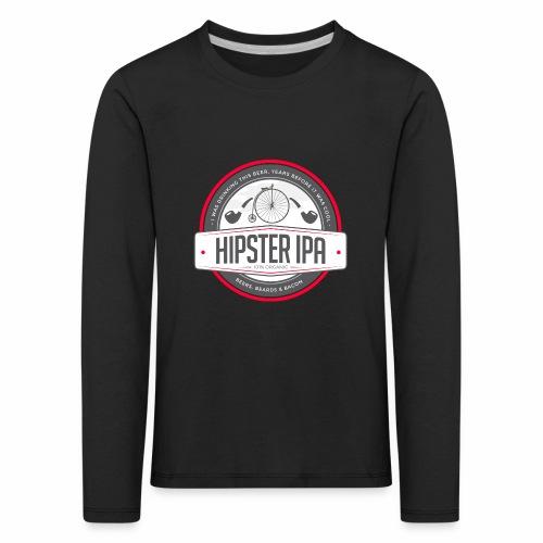 Hipster IPA - Kids' Premium Longsleeve Shirt