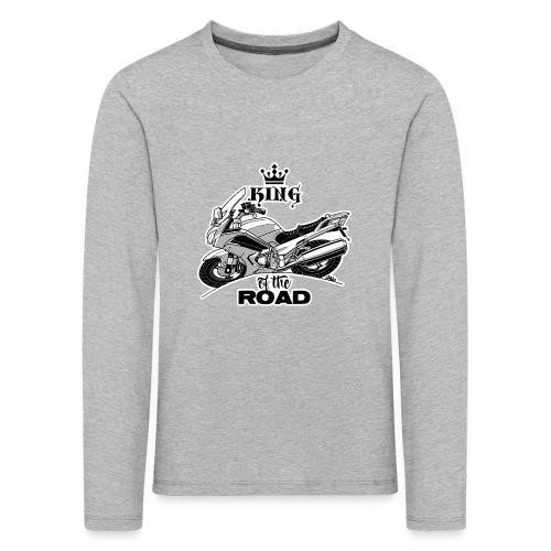 0884 FJR KING of the ROAD - Kinderen Premium shirt met lange mouwen