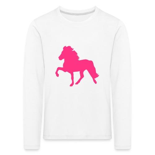 Tölter - Kinder Premium Langarmshirt