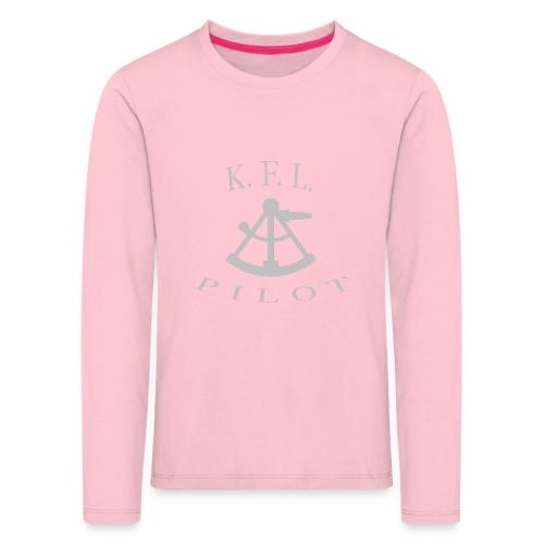 Sextant - Børne premium T-shirt med lange ærmer