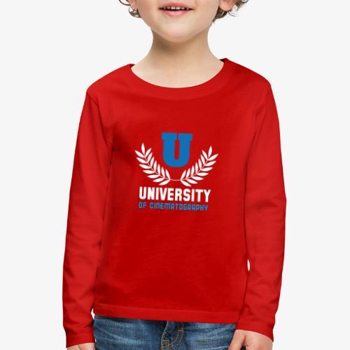 University 5 - Camiseta de manga larga premium niño