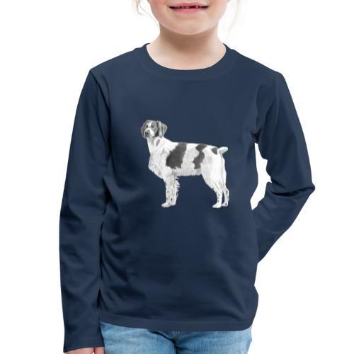 Brittany - Breton - Børne premium T-shirt med lange ærmer