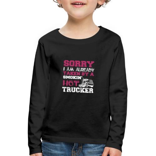 hot trucker - T-shirt manches longues Premium Enfant