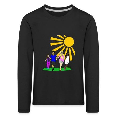 Kids - Kinder Premium Langarmshirt