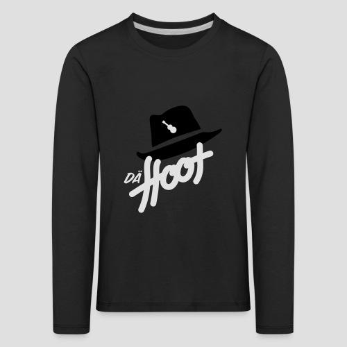 daeHoot_Shirt_Logo2_2c - Kinder Premium Langarmshirt