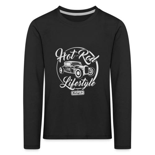 Hot-Rod Lifestyle 1 - T-shirt manches longues Premium Enfant