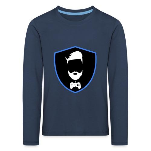 Kalzifertv-logo - Børne premium T-shirt med lange ærmer