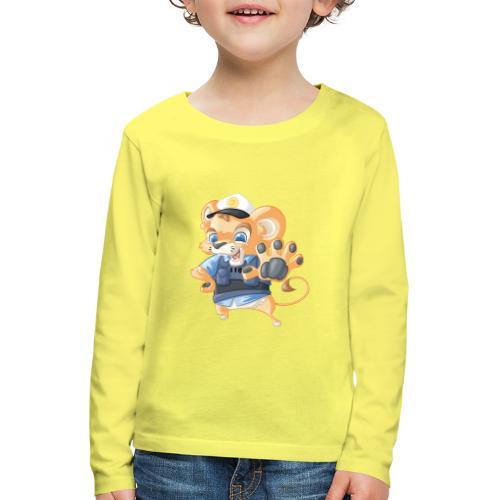Polizei Löwe - Kinder Premium Langarmshirt