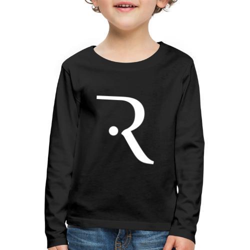 Recxoo - You're Never Alone with a Recxoo - Børne premium T-shirt med lange ærmer