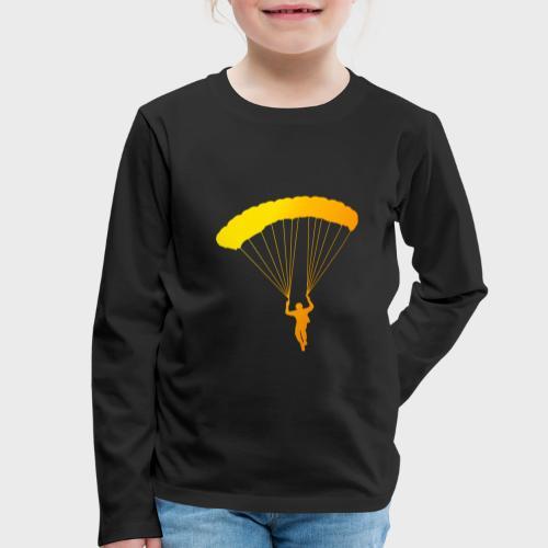 Colorfull Skydiver - Kinder Premium Langarmshirt